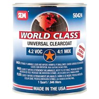 SEM PRODUCTS 50424 World Class - Universal Clearcoat 4.2 Voc 4:1