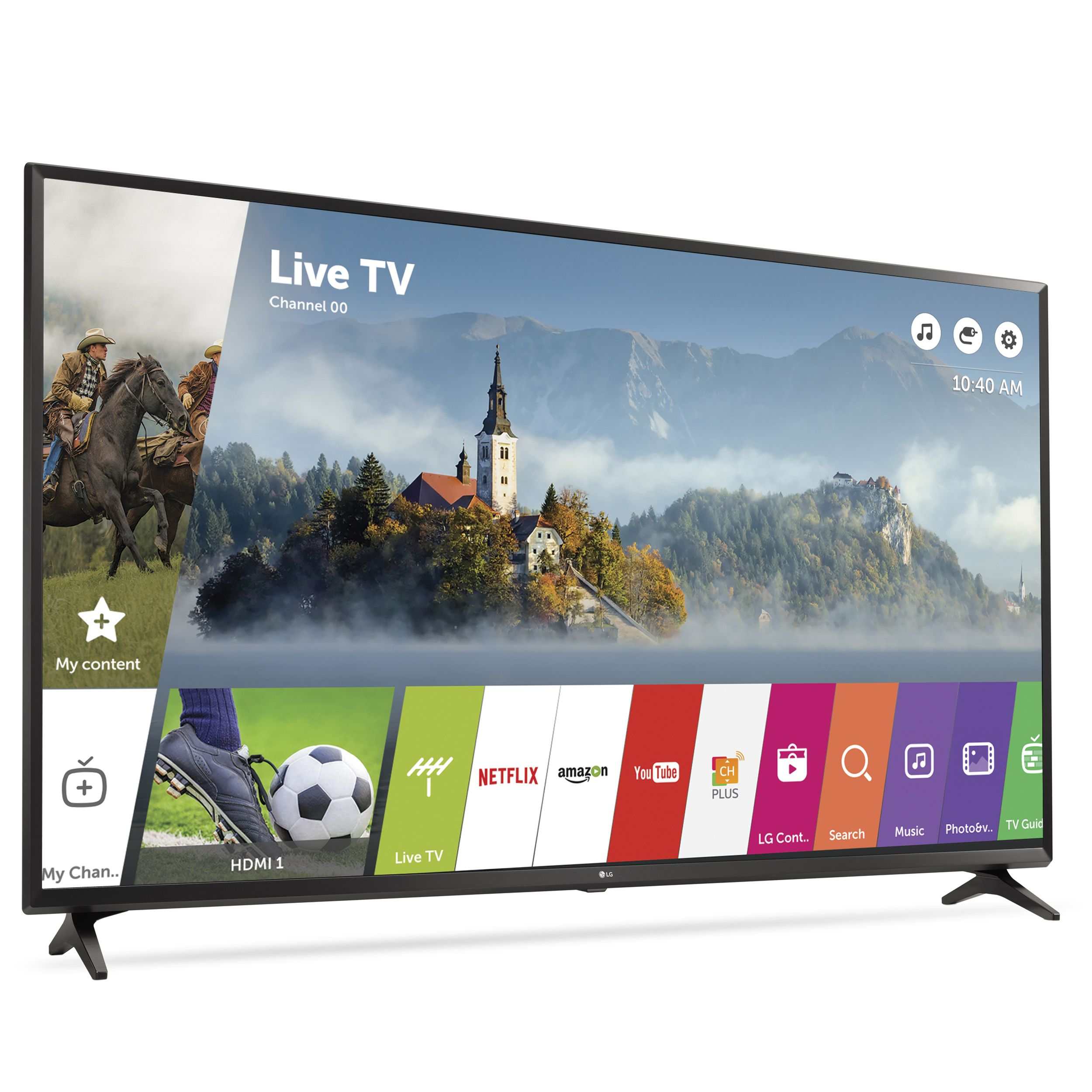 "Refurbished LG 49"" Class 4K (2160P) Smart LED TV (49UJ6300)"