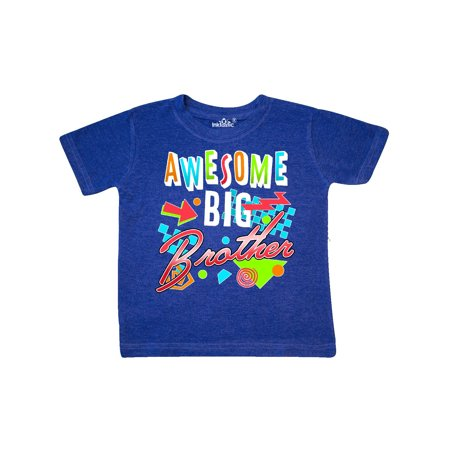 Awesome Big Brother- 80s retro style Toddler (Retro Toddler Shirts)