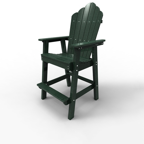 Bar Chair by Malibu Outdoor - Yarmouth, Turf Green