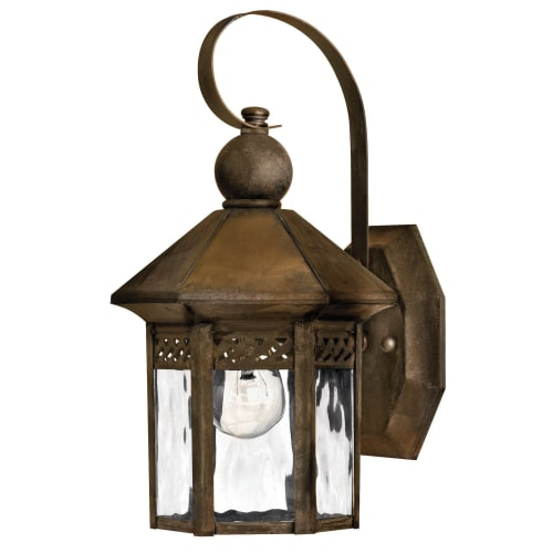 """Hinkley Lighting H2989 11.75"""" Height 1 Light Lantern Outdoor Wall Sconce from the Westwinds Collection by Hinkley Lighting"""