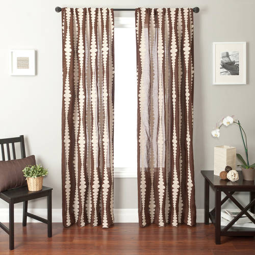 Softline Cozumel Rod Pocket Curtain Panel