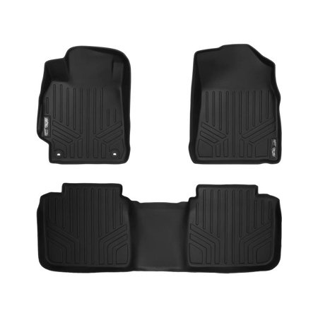 Maxliner 2015-2017 Toyota Camry New Body Style Floor Mats Complete Set Black