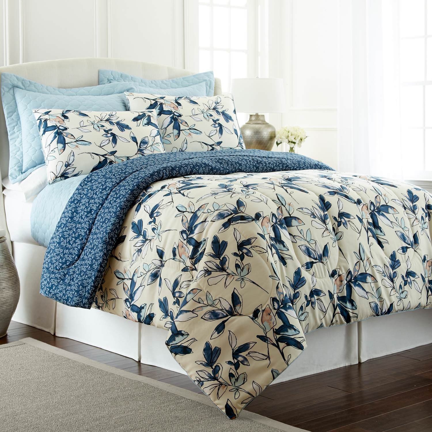 6 Piece Comforter/Coverlet Set -Mianka