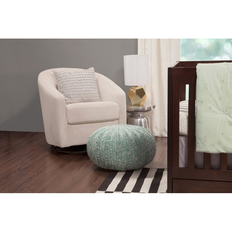 Babyletto Madison Swivel Glider Ecru by Babyletto