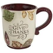 "Grasslands Roads ""Give Thanks"" 16 Ounce Mug"
