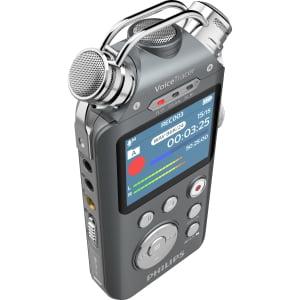 - Philips Audio VoiceTracer DVT7500 Portable Audio Recorder w/ 16GB MicroSD
