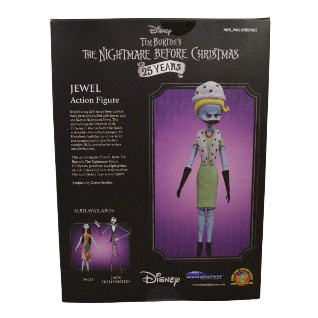 Tim Burton/'s The Nightmare Before Christmas JEWEL Figure Diamond Select Toys NBX