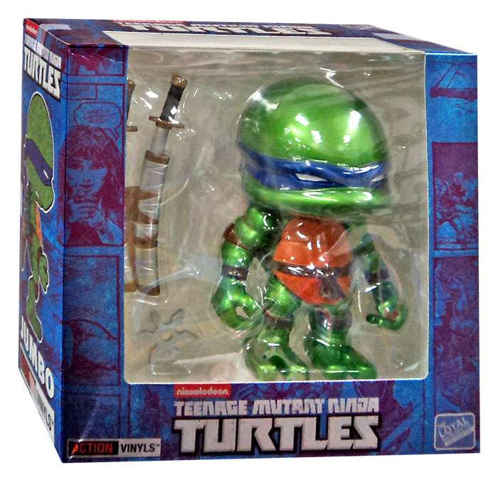 Teenage Mutant Ninja Turtles Jumbo Leonardo Vinyl Figure [Metallic]
