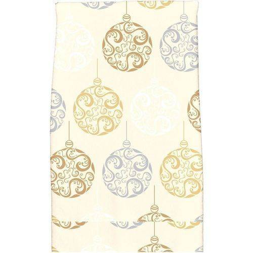 """Simply Daisy 16"""" x 25"""" Painterly Bulbs Holiday Geometric Print Kitchen Towel by E By Design"""