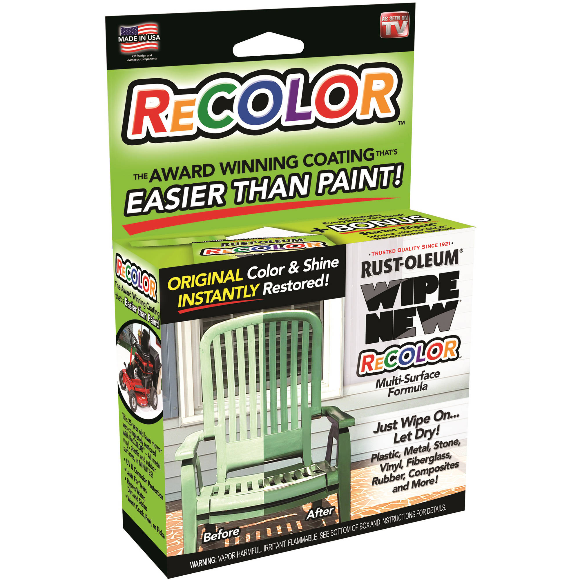 As Seen On TV Rust-Oleum ReColor by Wipe New
