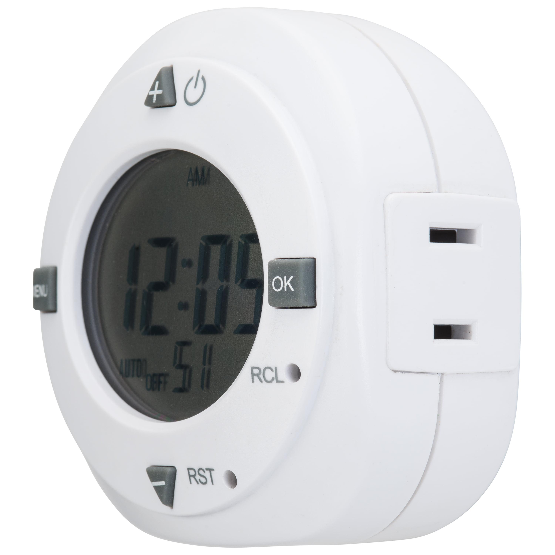 Hyper Tough Indoor Digital Timer, 1 Outlet