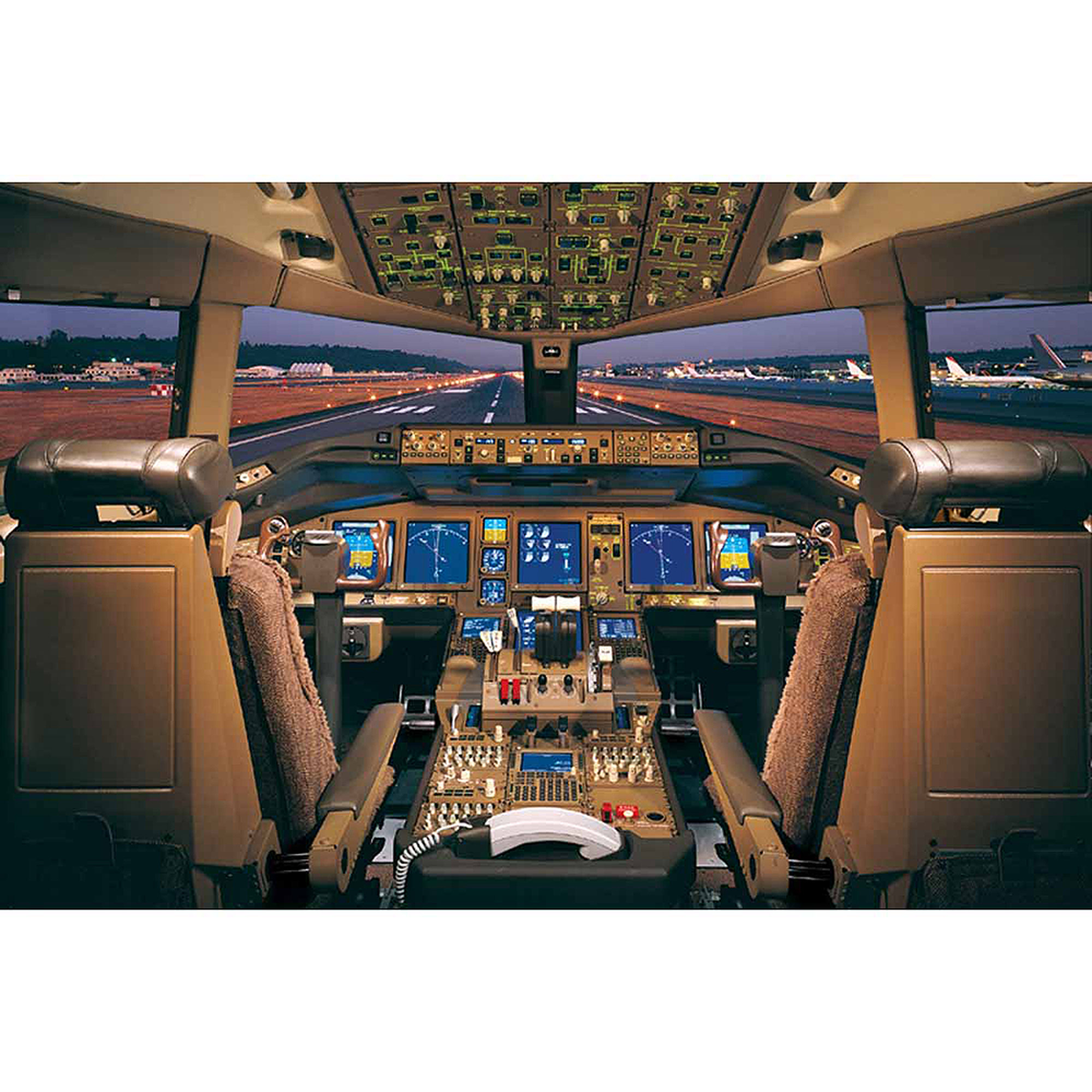 Airplane-Boeing777-200 Deck Photography Art