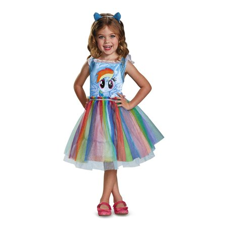 Rainbow Dash Movie Classic Toddler Costume - Blue Devil Costume