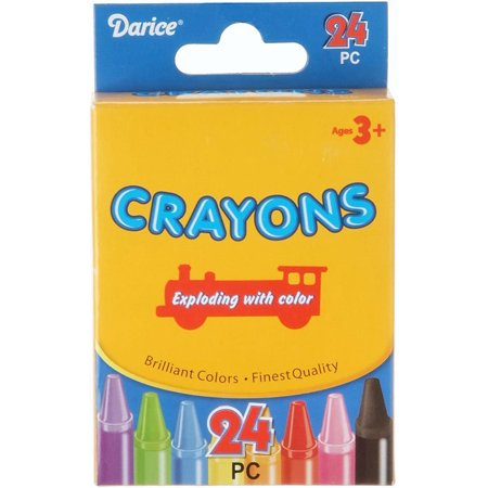 Darice Crayons 24 Colors](Ultimate Crayon Collection)