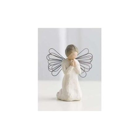 Baptism Angel Figurine - Angel of Prayer Willow Tree Figurine by Susan Lordi Demdaco 26012  New