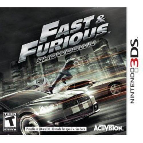 Fast & Furious Showdown (Nintendo 3DS)