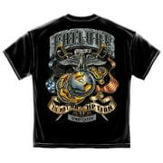 USMC Failure Is Not An Option Marine Corps T-Shirt by Erazor Bits, Black