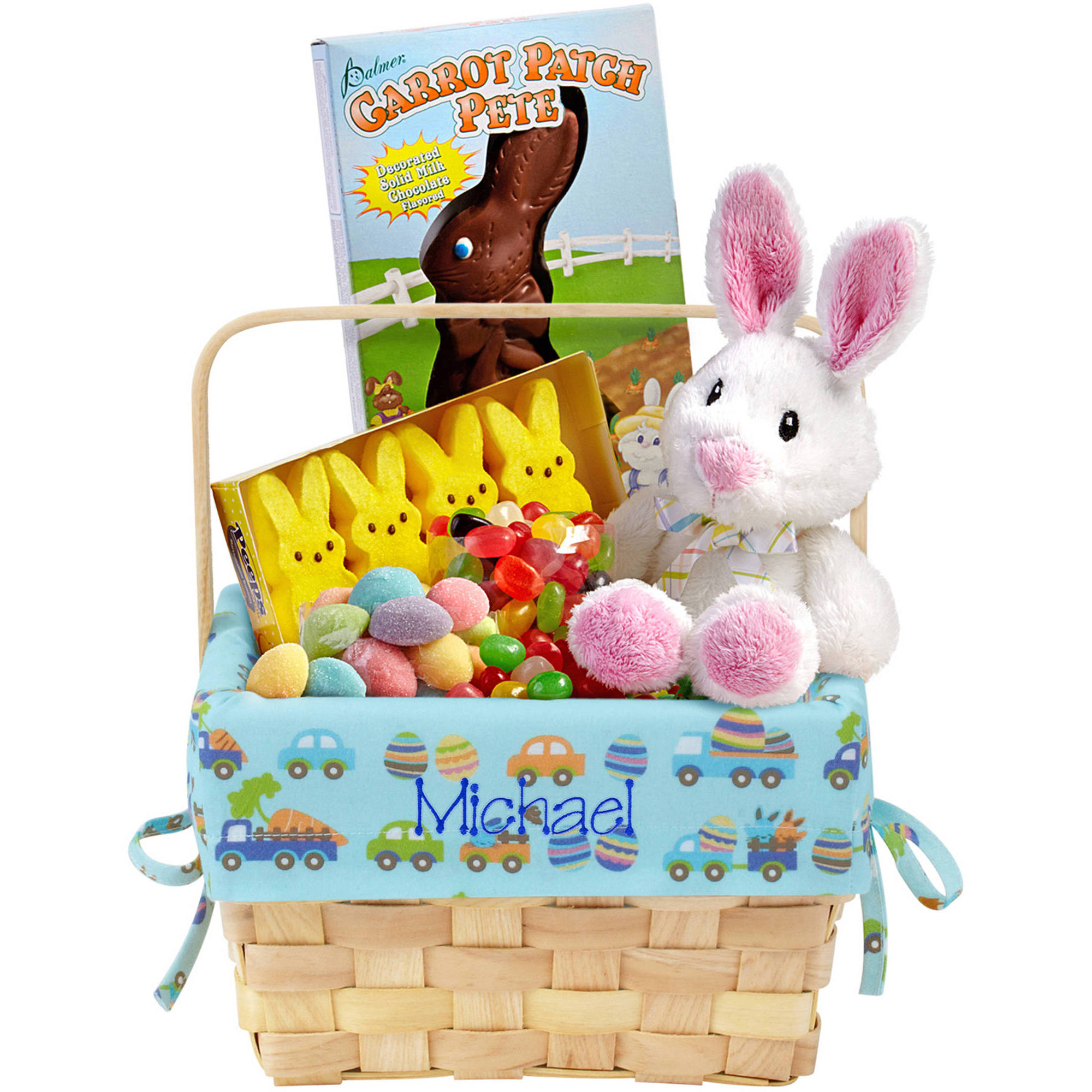 Pick from personalized Easter baskets for babies featuring cuddly plush animals, or soft, snuggly blankets and colorful quilts for wrapping your little one in warmth and comfort. And new parents will love thoughtful baby gifts, baby toys, and handy bibs.