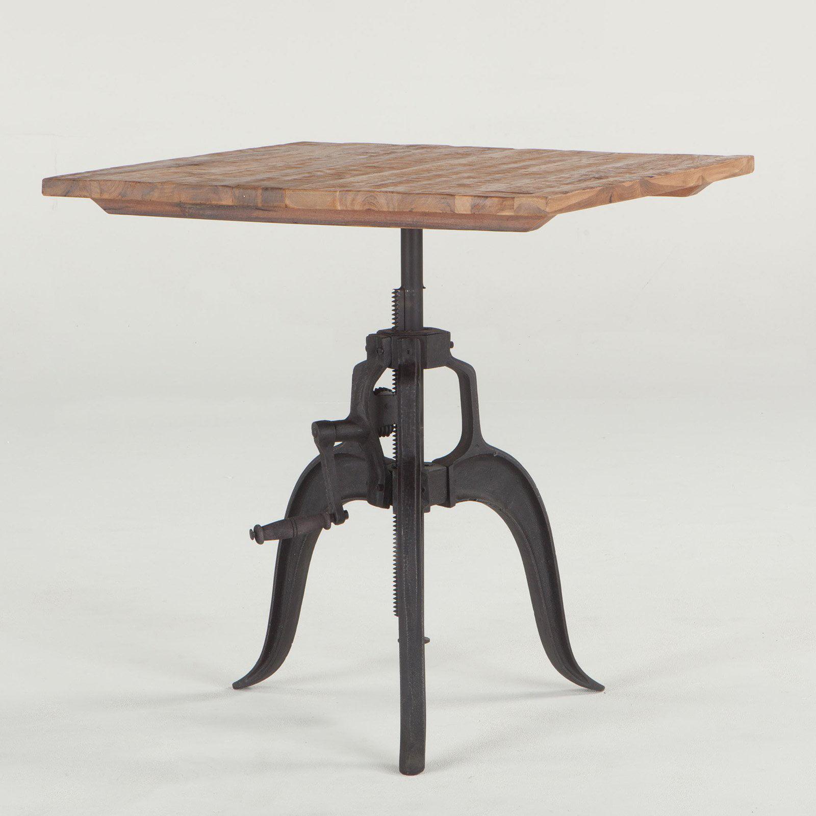 World Interiors Artezia Adjustable Square Dining Table