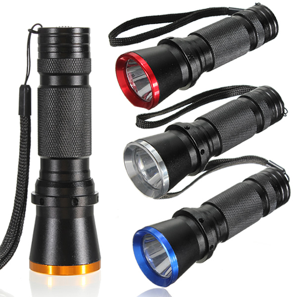 Q5 LED 1200LM Flashlight Torch Tactical Light Bicycle Lamp 3 Modes For Fishing Camping Hiking