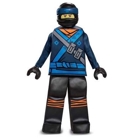 Disguise Lego Ninjago Movie Jay Prestige Child Costume (Jay, Medium (7-8)) - Blue Jay Halloween Costume