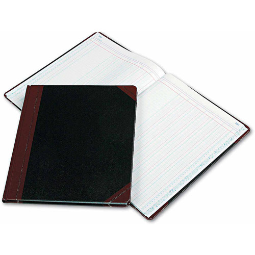 Esselte Pendaflex Columnar Book, 6 Column, Black Cover, 150 Pages