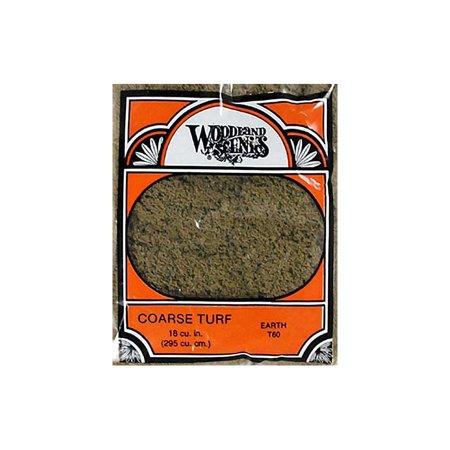 Woodland Scenics T60 Turf Coarse Earth 12 oz WOOT60 (Turbo Coarse Stone Cup)