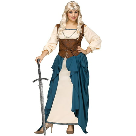 Viking Queen Plus Size Costume (Viking Costume For Women)