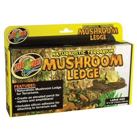 - Zoo Med Laboratories Inc-Naturalistic Terrarium Mushroom Ledge Large