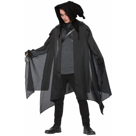 Adult's Executioner Wizard Warlock Cowl Hood Costume Accessory - Executioner Costumes