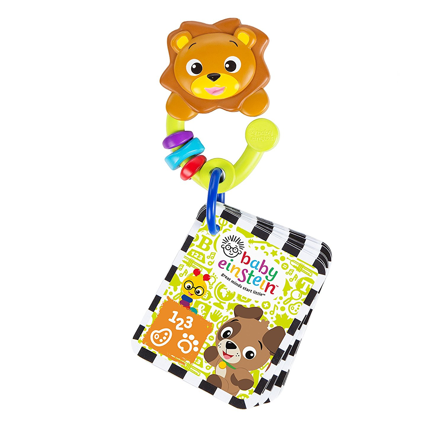 Baby Einstein Take Along Discovery Cards Toy Lion by Baby Einstein