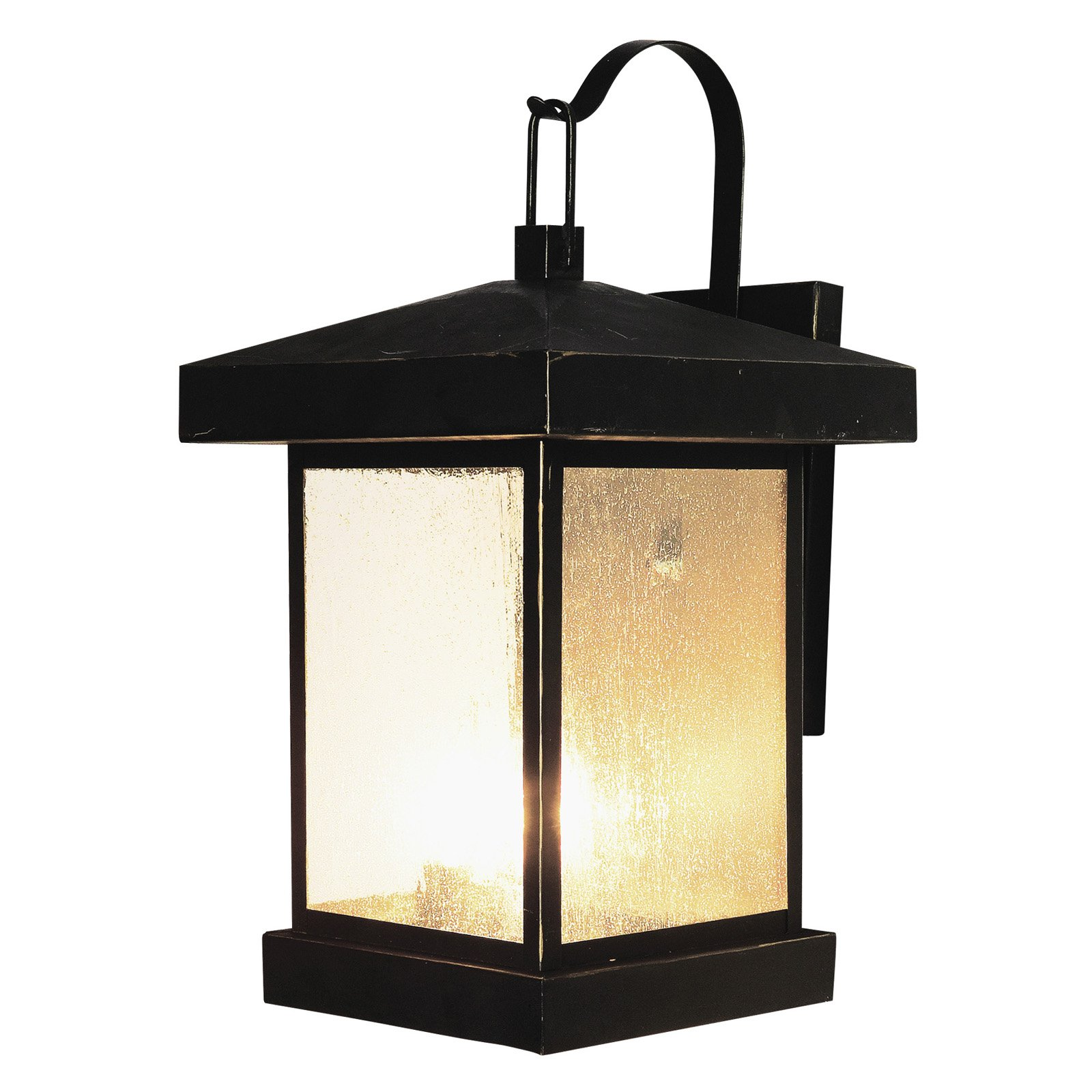 Trans Globe 45642 WB Coach Lantern - Weather Bronze - 10W in.