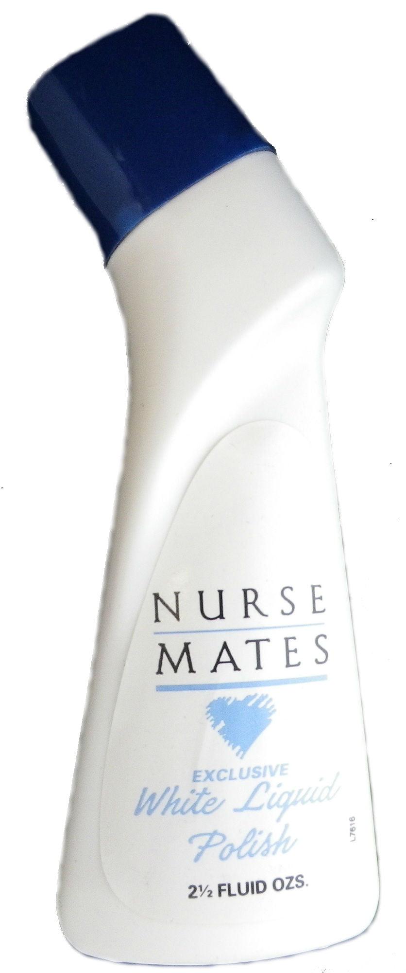 Nurse Mates Liquid Shoe Polish White 2.5 oz by Lowell Shoe, Inc