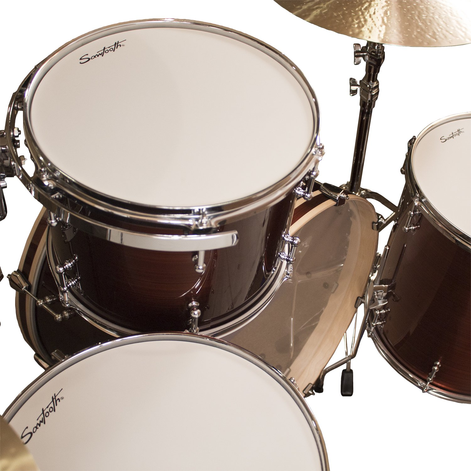 Buy Sawtooth Command Series 4-Piece Drum Set Shell Pack with 24