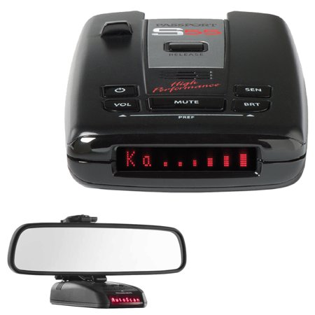Escort Passport S55 High Performance Radar /Laser Detector with RadarMount Car Mirror Mount Bracket For Radar (Escort Passport S55 Radar Laser Detector Review)
