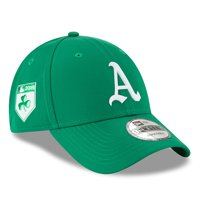 los angeles 52a46 be9d7 Product Image Oakland Athletics New Era 2018 St. Patrick s Day Prolight  9FORTY Adjustable Hat - Green -