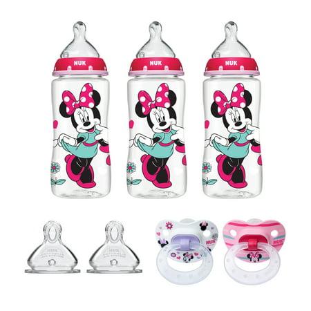NUK Minnie Mouse Bottle & Pacifier Newborn Set ()