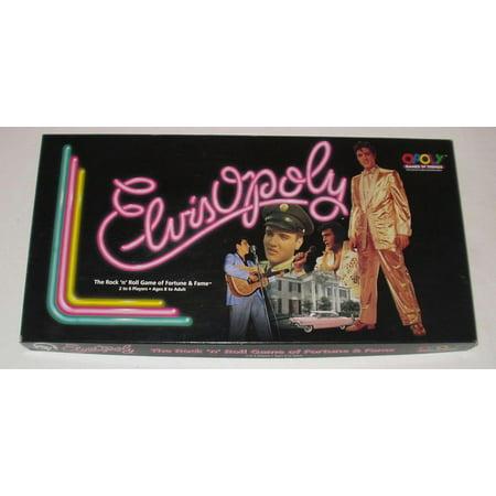 Elvisopoly Rock 'N' Roll Vintage Elvis Presley Music Board Game](Rock And Roll Party Ideas)