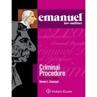 Emanuel Law Outlines: Emanuel Law Outlines for Criminal Procedure (Paperback)