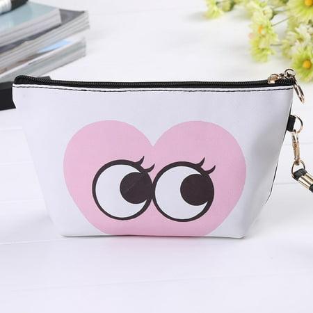 cfe9fe68a2df Women Toiletry Travel Makeup Cosmetic Bag Pouch Clutch Handbag Purses  Organizer - Walmart.com