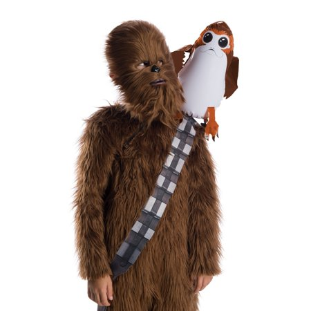 Star Wars: The Last Jedi-Porg Shoulder Sitter Halloween Costume - Last Minute Halloween Ideas For Girls
