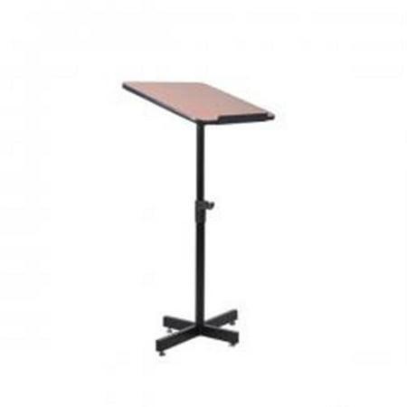 Floor Standing Lectern Presentation Podium Stand, Height Adjustable