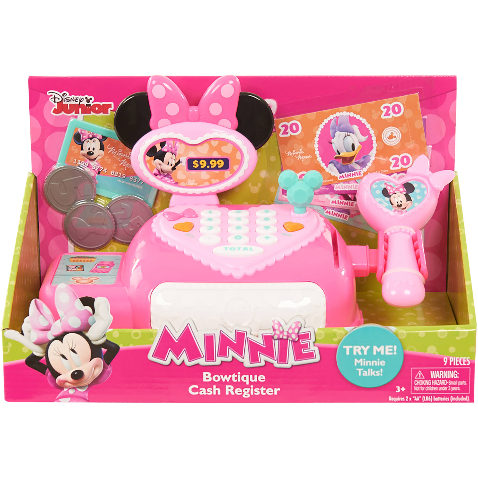 Disney Minnie Bow-Tique Cash Register