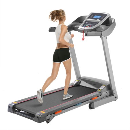 3.0HP Treadmill APP Bluetooth Control 3/5% Incline Electric Folding Treadmill With 12 Preset Program, Large LCD Screen,MP3,Cushioning System and Quick Speed key