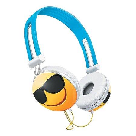 Overhead Stereo Headphone (Emoji Overhead Stereo Headphones, Sunglasses )