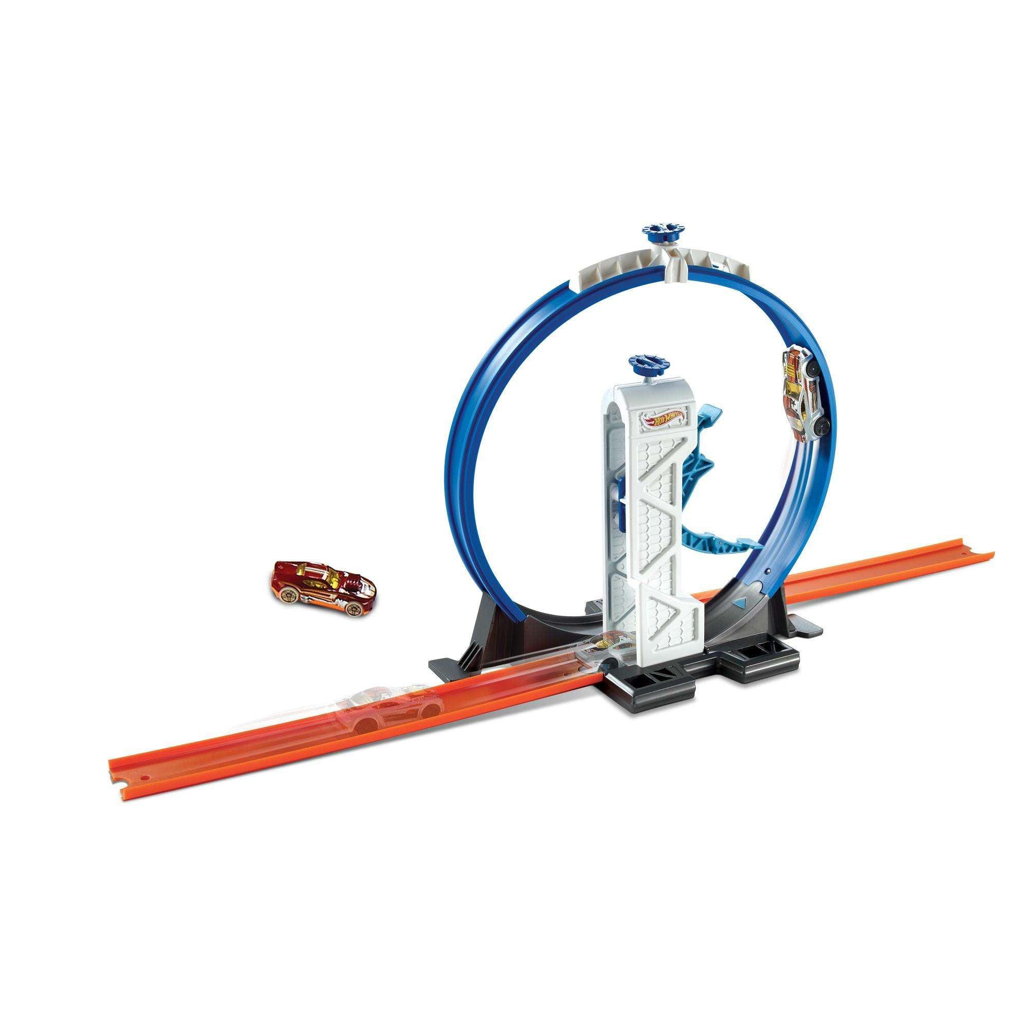 Hot Wheels Track Builder Loop Launcher Trackset by Mattel