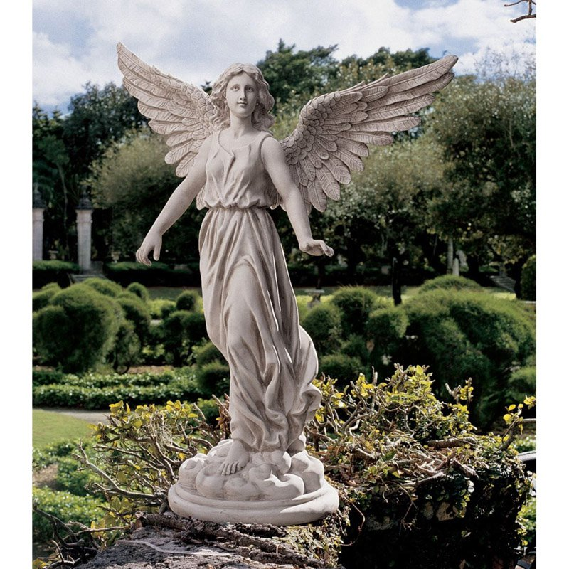 Great Design Toscano Angel Of Patience Garden Statue