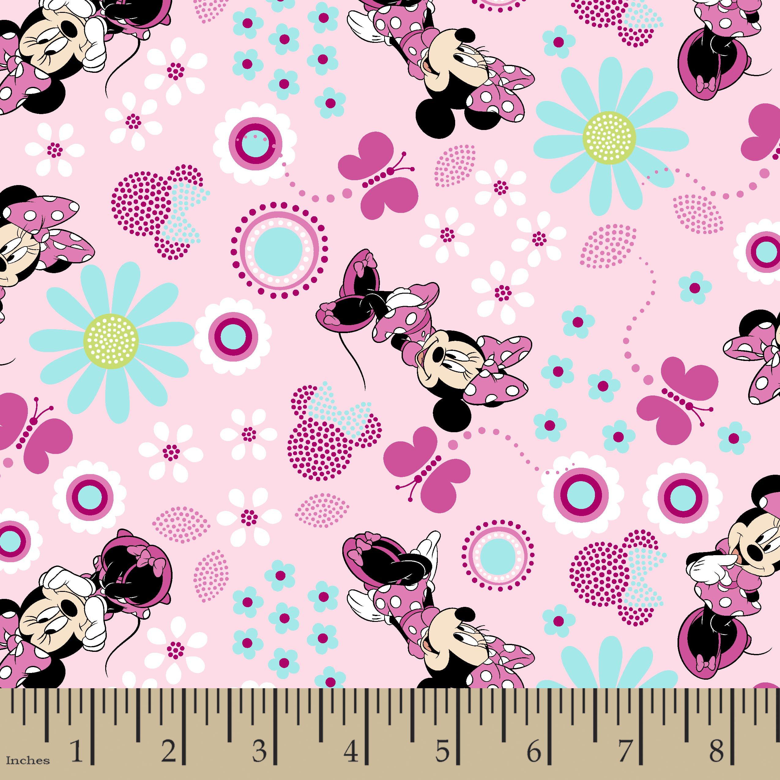 Disney Minnie Minnie Minnie Fabric by the Yard