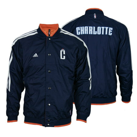 Adidas NBA Youth Charlotte Bobcats On Court Reversible Jacket